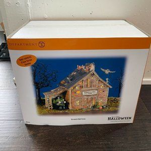 Department 56 Halloween Screech Owl Farm #804443 L